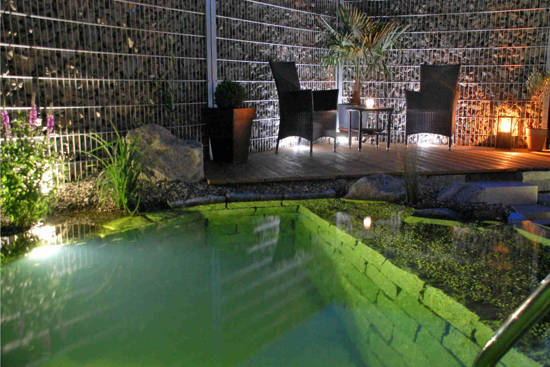kalhofer gartengestaltung schwimmteiche landschaftsbau gartenbeleuchtung. Black Bedroom Furniture Sets. Home Design Ideas